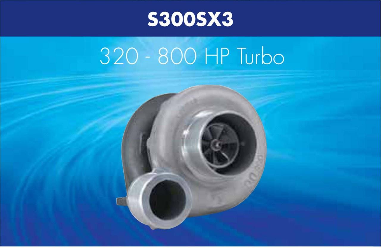 Turbosprężarka Borg Warner AirWerks S300SX wylot 90st - GRUBYGARAGE - Sklep Tuningowy